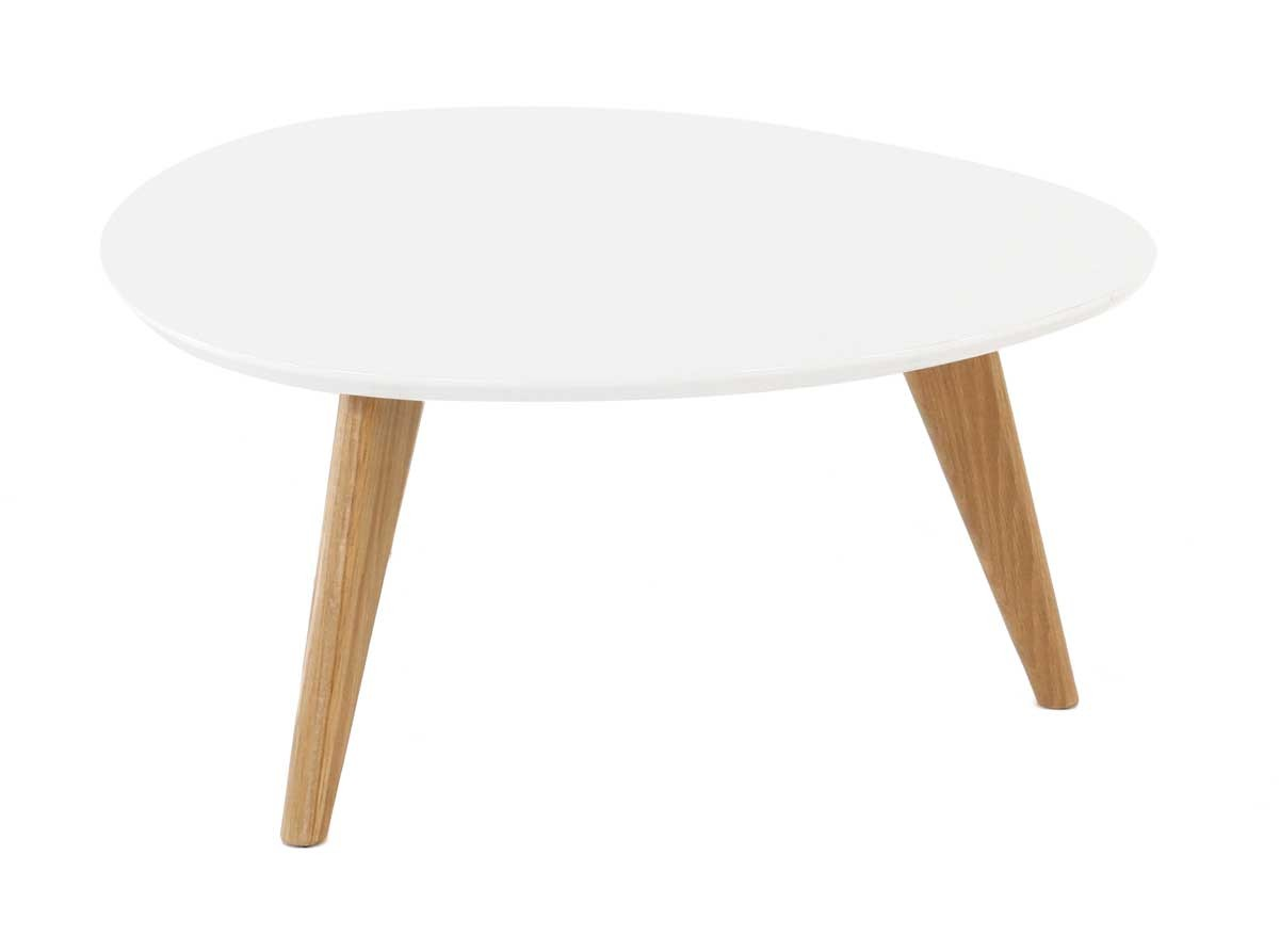 Table basse blanche pixy - Table basse bar blanche ...