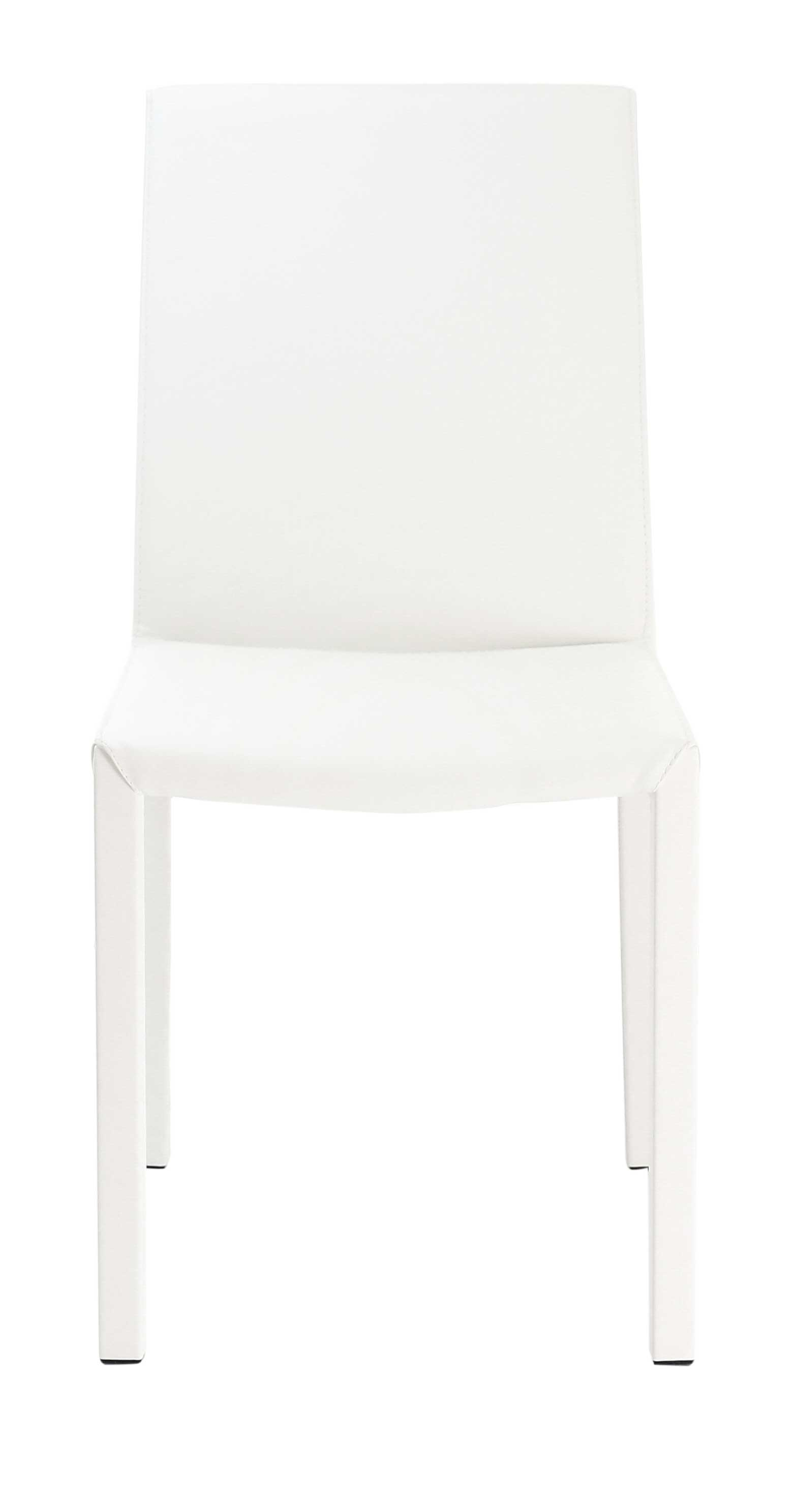 Chaise nunzia blanche for Chaise d implantation